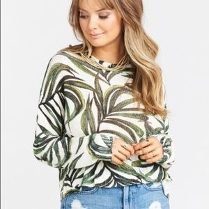 Show Me Your Mumu Cropped Sweater